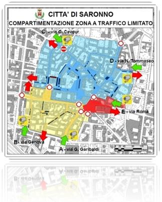 ZTL mappa immagine