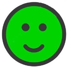Faccina verde