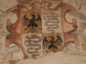 stemma degli Sforza Duchi di Milano