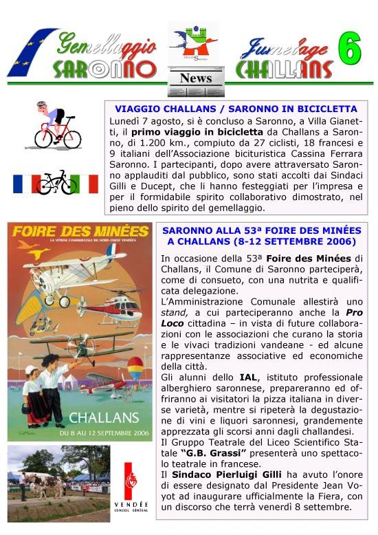 Saronno - Challans in bicicletta