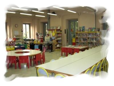 Sala ragazzi lettura immagine