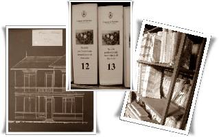 Archivio composizione foto