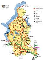 cartina di Saronno - piccola