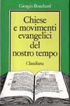 Protestanti - Copertina chiesa e movimenti evangelici del nostro tempo