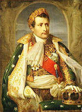 Napoleone Buonaparte, Re d'Italia, ritratto da Andrea Appiani